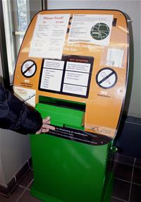 Drop Box at Burnsville Police Department