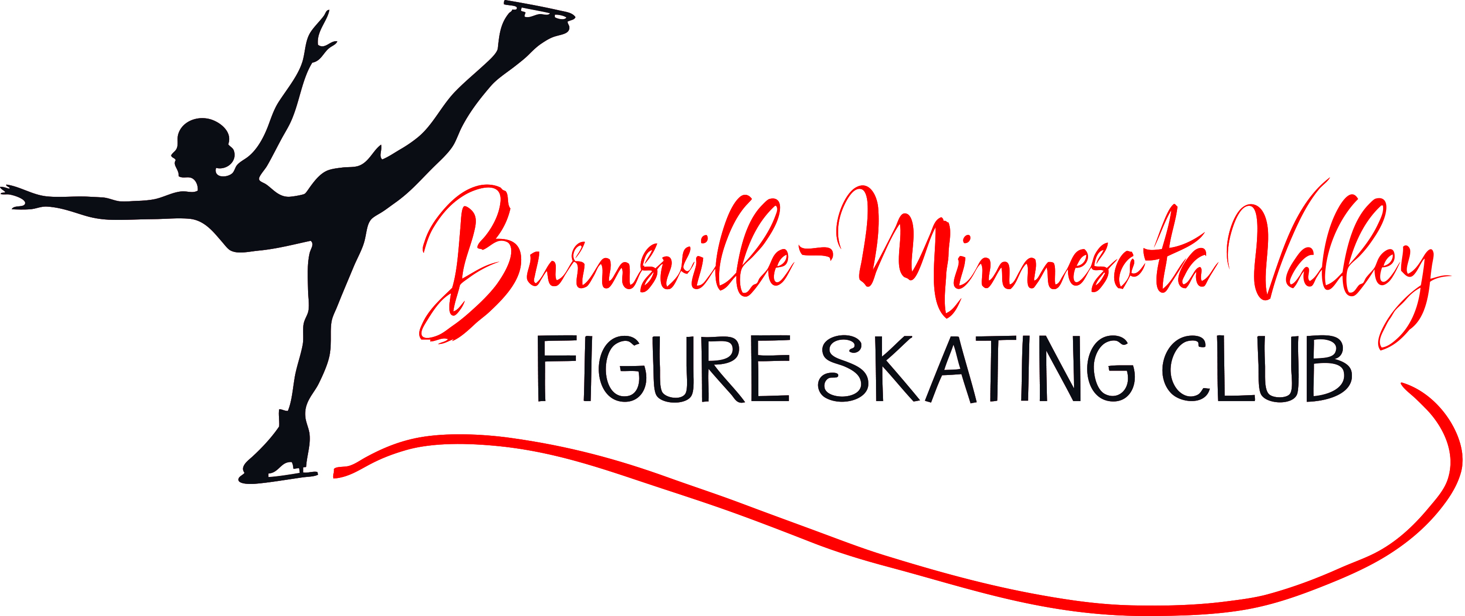 Burnsville Minnesota Valley Figure Skating Club logo