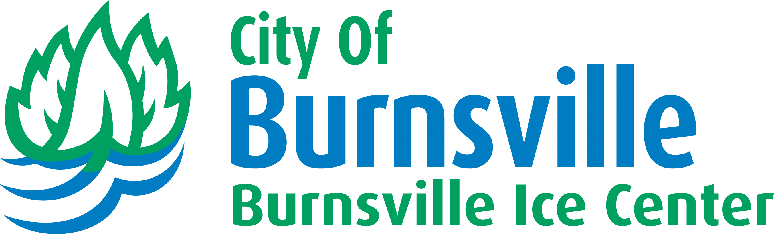 Burnsville Ice Center Logo