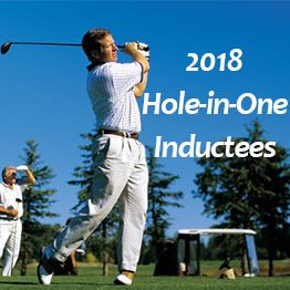 2018 Hole-in-One Inductees