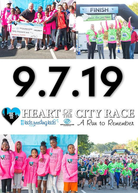 Images from the Heart of the City Race