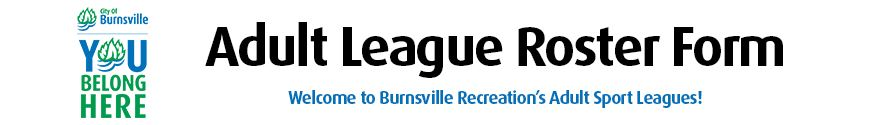 You Belong Here City Logo - Adult Leagues Header