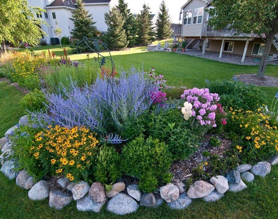 Raingardens benefit water quality - and add color!