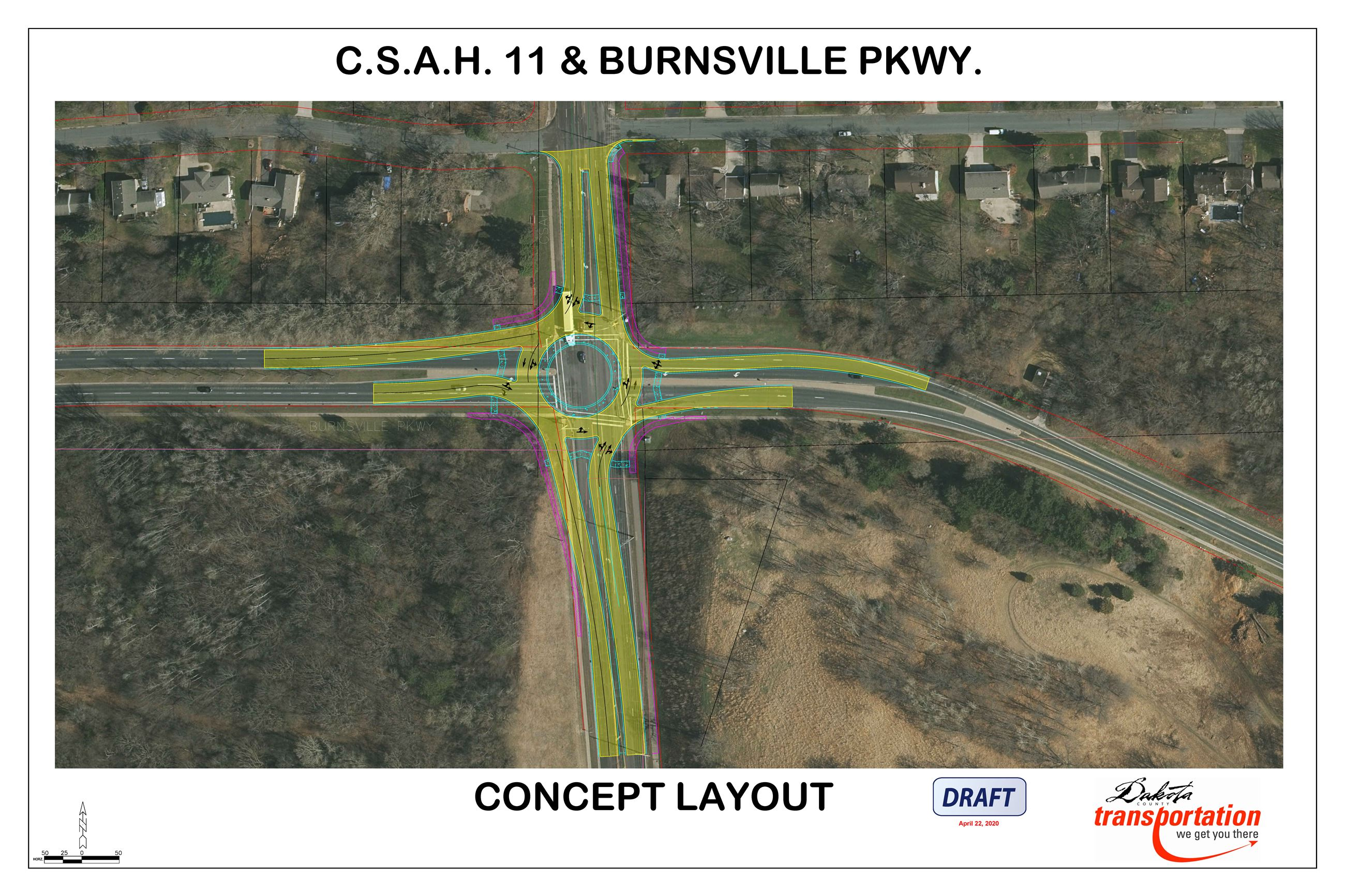 DAKOTA CO11  BURNSVILLE PKWY-LAYOUT