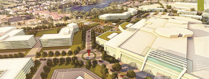 Rendering of Proposed Burnsville Center Village Redevelopment