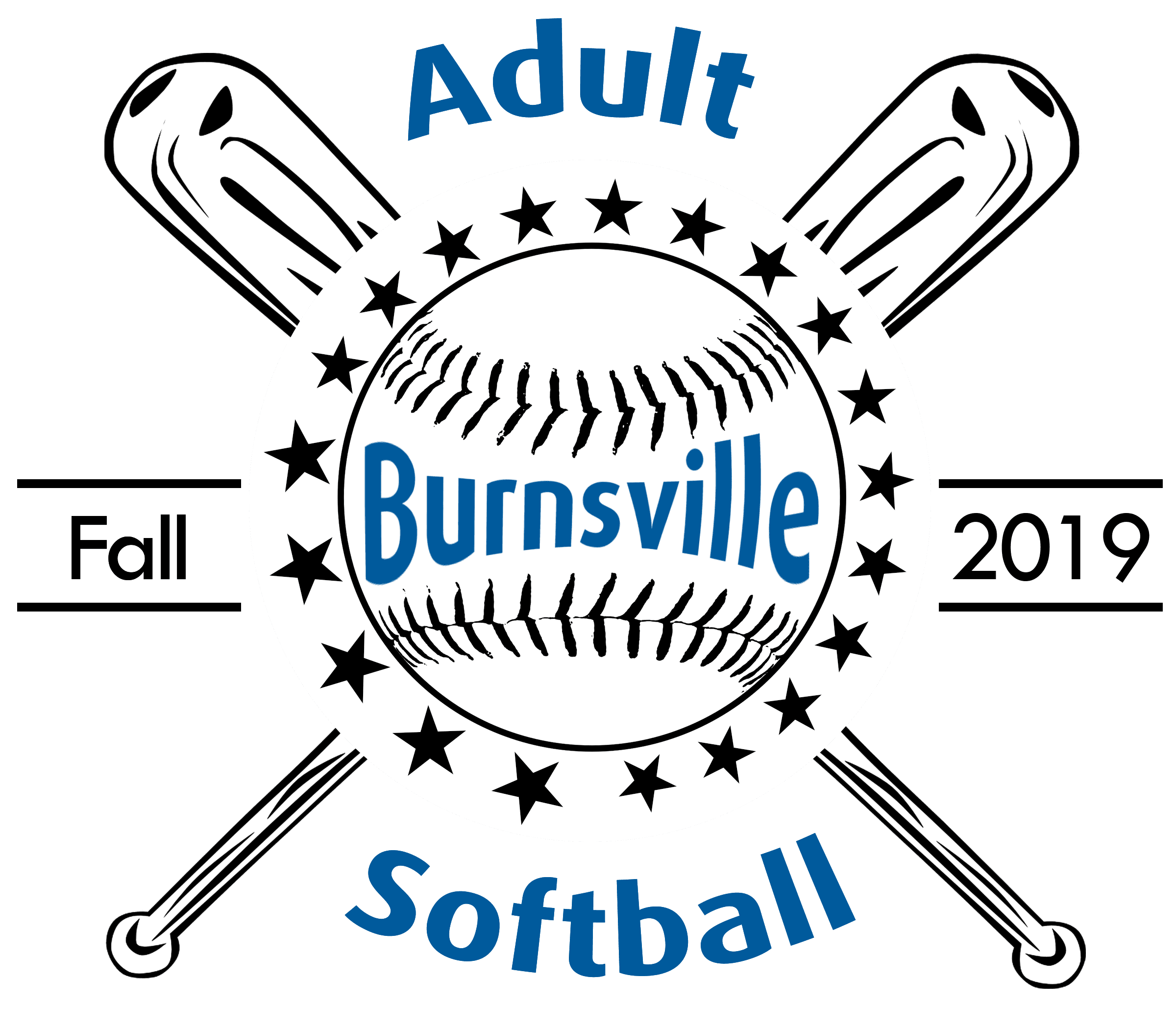 Fall Softball Logo