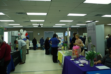 Resource Fair in City Hall
