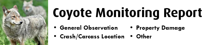Coyote Monitoring Report