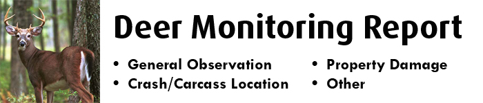 Deer Monitoring Report