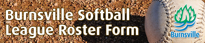 City of Burnsville Softball League Roster From