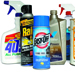 Household cleaners and chemicals