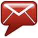 Red Envelope Email Sign-up Icon