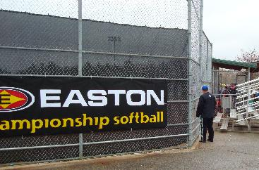 Fence advertisment example