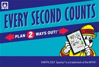 Every Second Counts. Plan Two Ways Out. National Fire Prevention Association