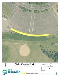 Civic Center Vendor Map