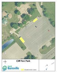 Cliff Fen Vendor Map