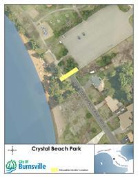Crystal Beach Vendor Map