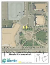 Nicollet Commons Vendor Map