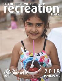 2018 Recreation Times Cover - Smiling Girl Holding Shaved Ice Treat