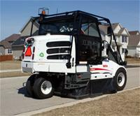 Street sweeping equipment