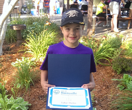 Birnamwood's 2015 Junior Golf Tournament, 3rd grade, second place winner, Luke Helm