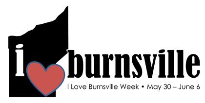 2015 I Love Burnsville Week Logo